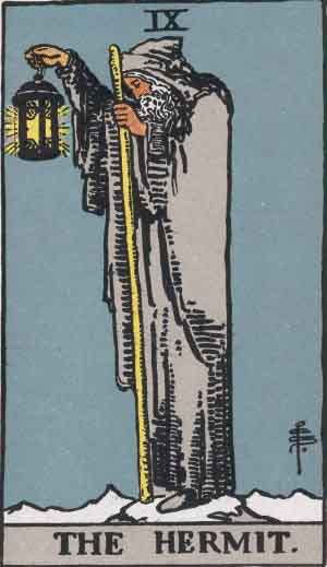 Tarot Card Meanings - The Hermit
