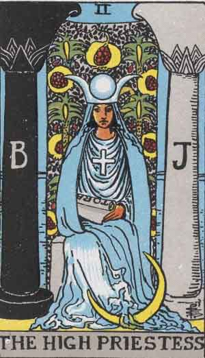 Tarot Card by Card - Tarot Card Meanings - The High Priestess