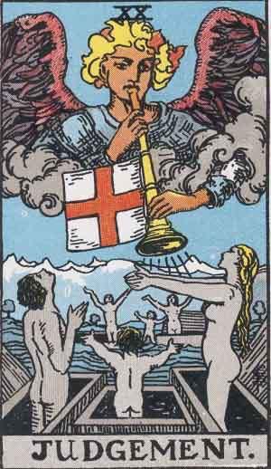 Tarot Card Meanings - Judgement