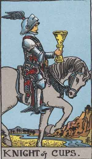 Tarot Card by Card: Knight of Cups - Tarot Card Meanings
