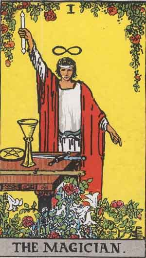 Tarot Card by Card - Tarot Card Meanings - The Magician