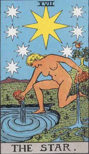 Tarot Card Meanings - The Star