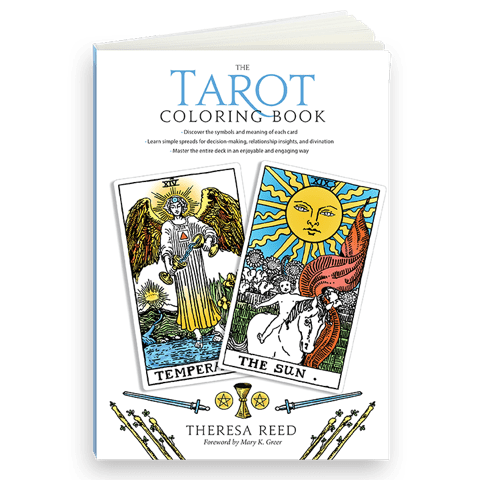 Tarot Coloring Book - Tarot Book