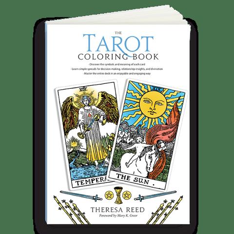 Tarot Coloring Book - Tarot Book