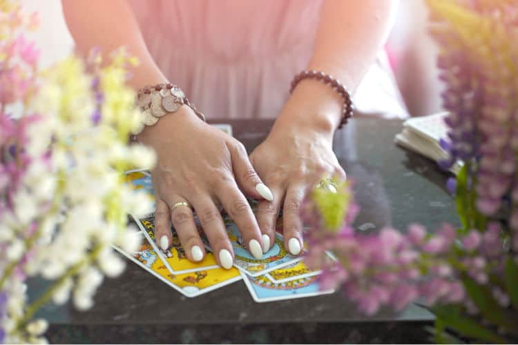 Where do professional tarot readers go when they need a reading?