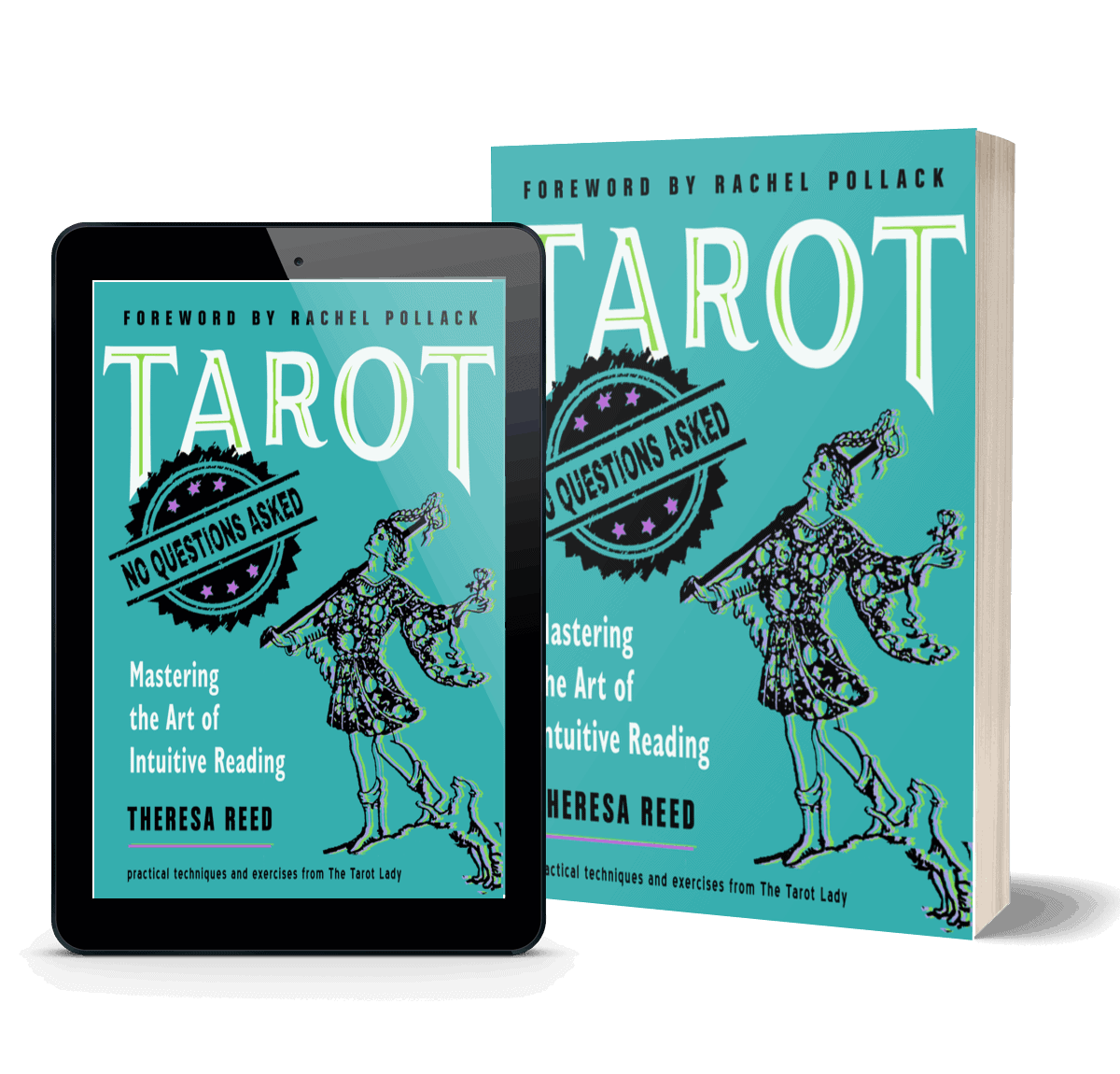 Tarot: No Questions Asked - Mastering the Art of Intuitive Reading  - Tarot Book