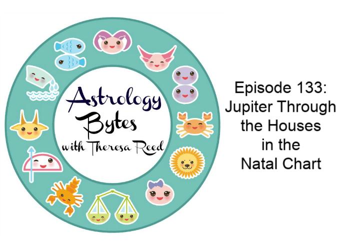 Astrology Bytes Episodio 133 - Júpiter a través de las casas en el certificado de nacimiento